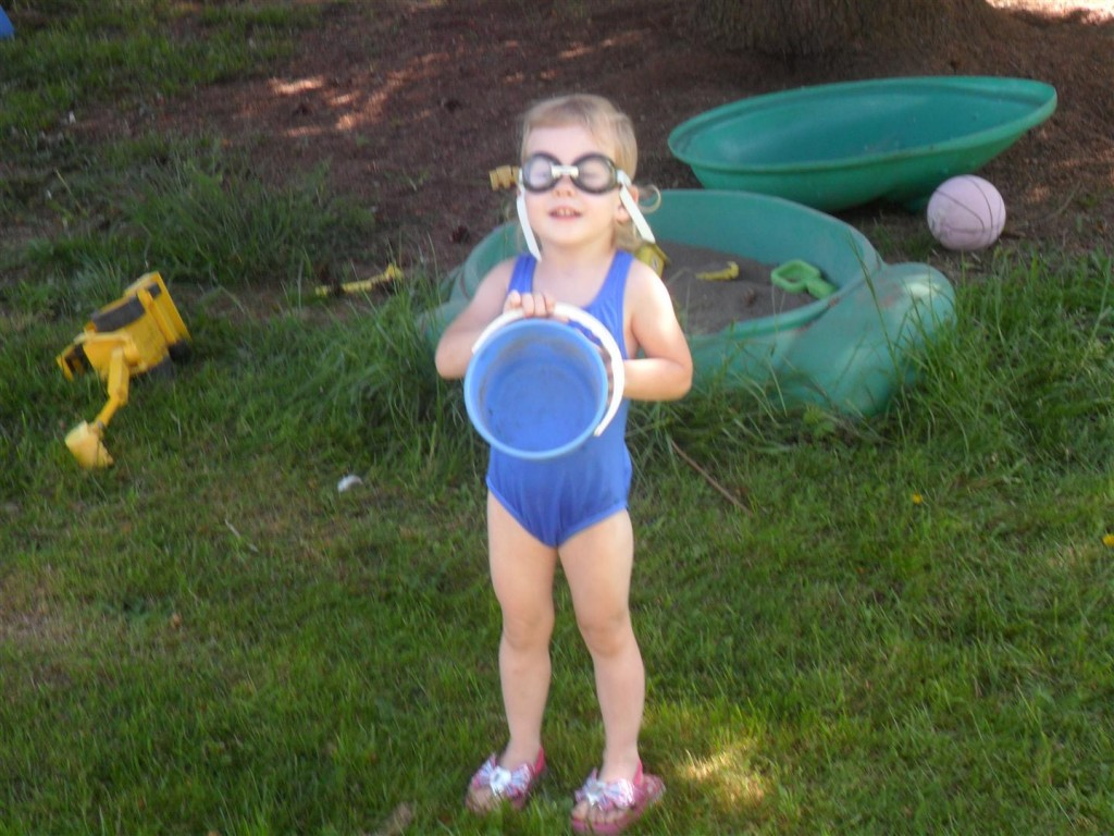 My goggles girl!