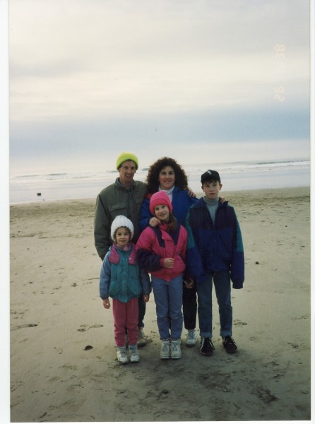 Family beach trip when we were kids.
