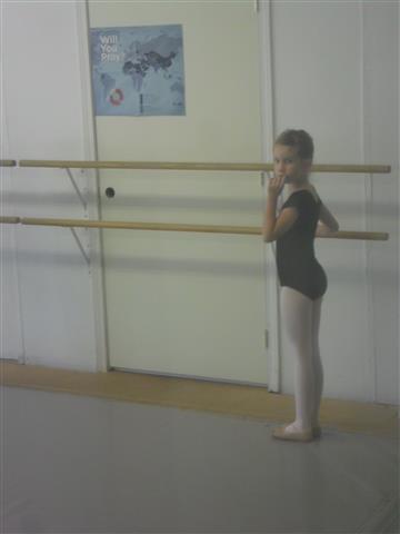 Anna's 'big girl' black class