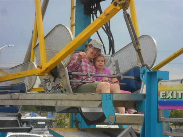 Ferris wheel ride!