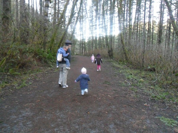 Family hiking is SO FUN when you get to look at Carolyn every minute of the time. She was so stinking adorable.