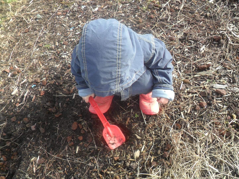 "Carolyn ""digging"""