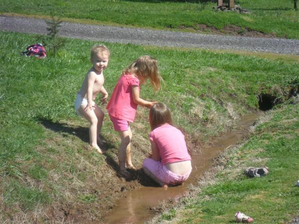 Ditch fun..... I guess. Yuck!