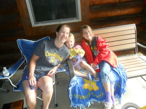 Me and two of my girls at Camp Attitude