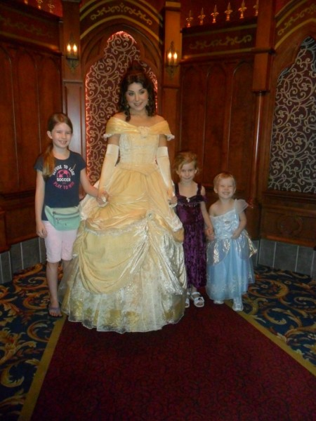 Meetting Belle!