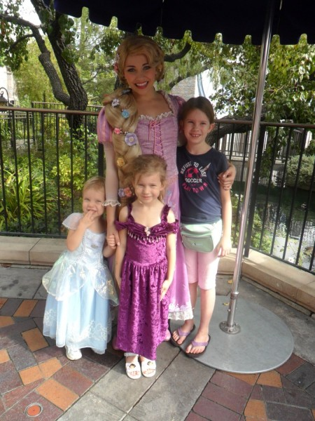 Meeting Rapunzel!