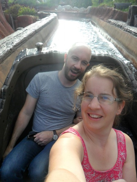 Splash Mountain with Neal and Maggie