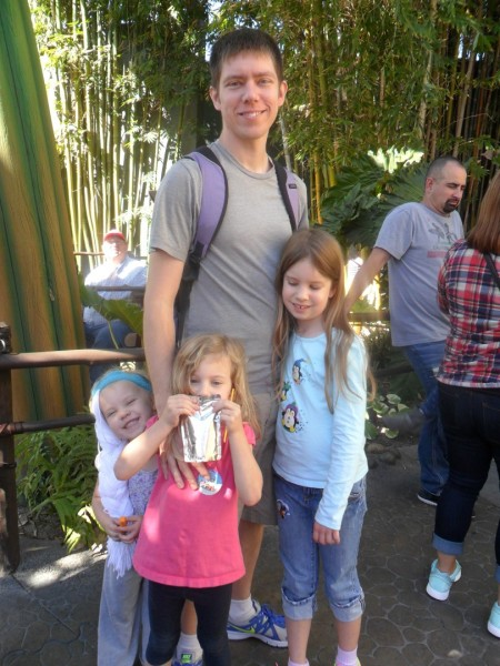 Bug's Land with little Elsa