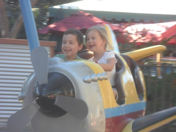 Loved the rides that kids could ride alone on. So special for them!