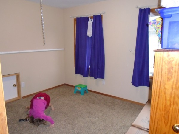 Christmas bedroom makeover! Their room was not very functional and we were excited to fix it up.