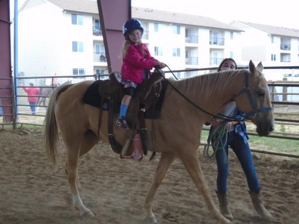 I love that Royal Ridges provides pony rides!