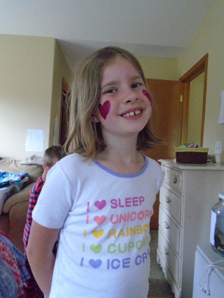 Anna went to summer camp (day camp) for the first time this summer! It was a big hit. I recommend Royal RIdges!