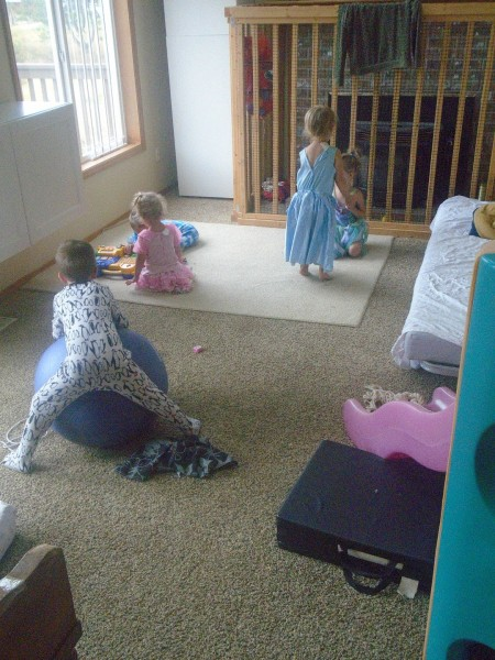 Kids primarily wore dressup... followed closely behind by pajamas.