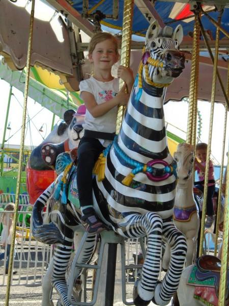 Maggie chose a zebra!