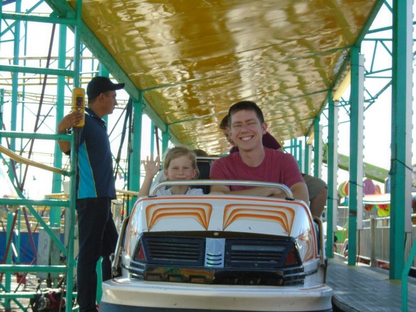 Brian and Maggie went on a proper roller coaster!