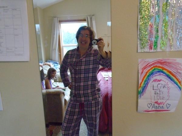 See? Pajamas!